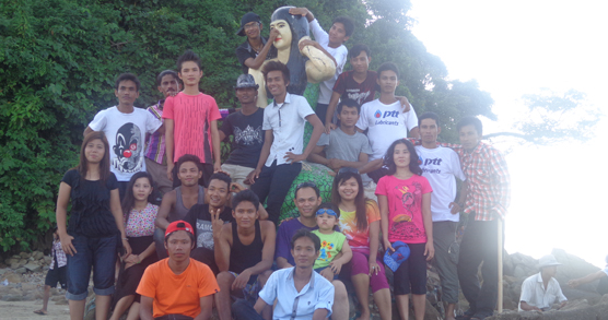 THE WONDERFUL TRIP TO NGWE SAUNG BEACH IN 2012
