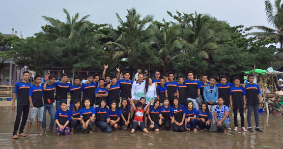 THE WONDERFUL TRIP TO CHAUNG THA BEACH IN 2014